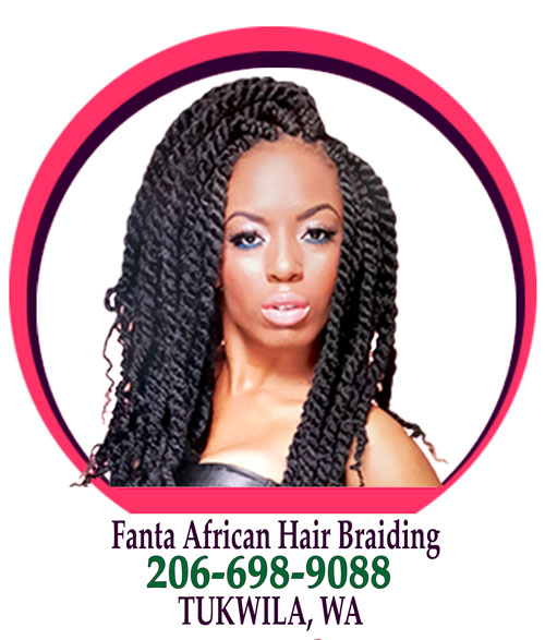 Fanta African Hair Braiing in Tukwila, Washington WA