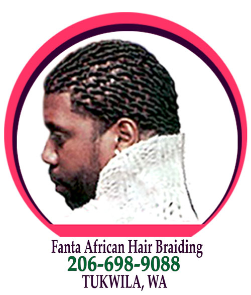 African hair Braiding in Tukwila, WA